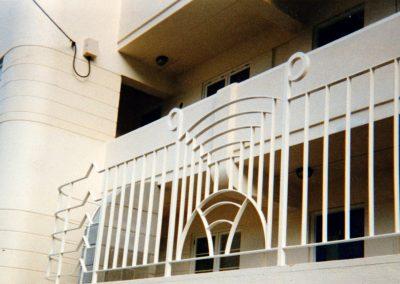 Art Deco Balustrade - OB24