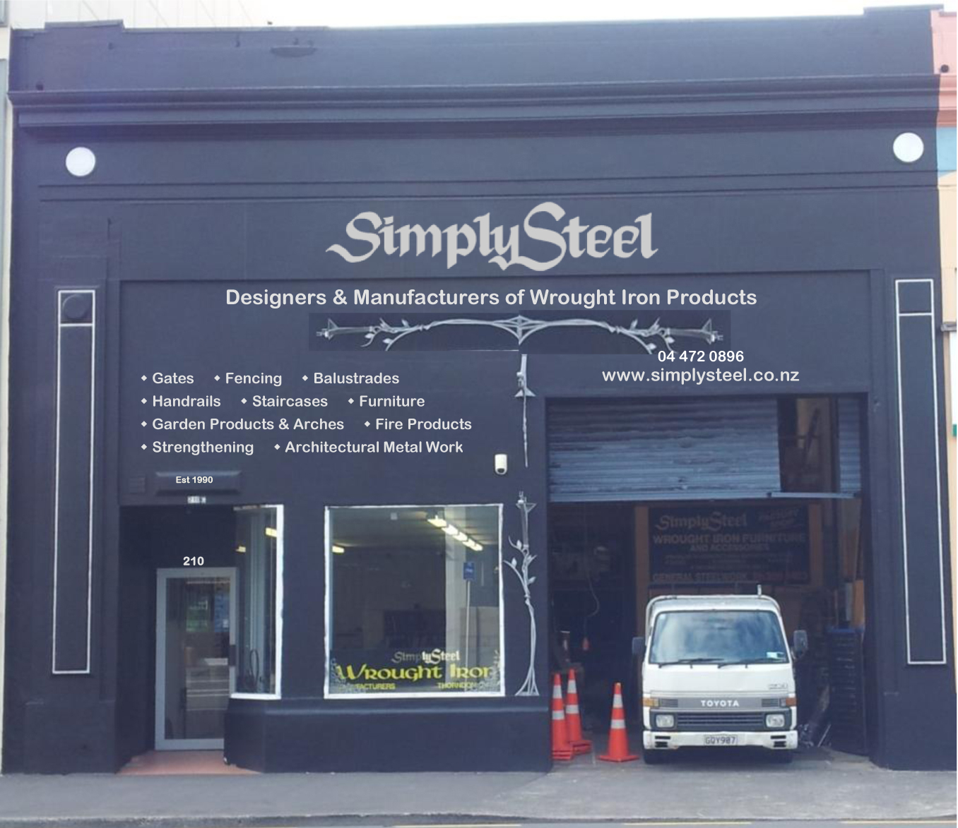 Simplysteel - Bespoke wrought iron & metal work