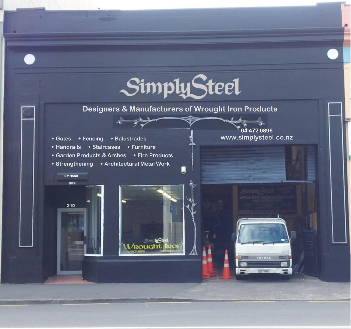 SimplySteel bespoke wrought iron & metal work
