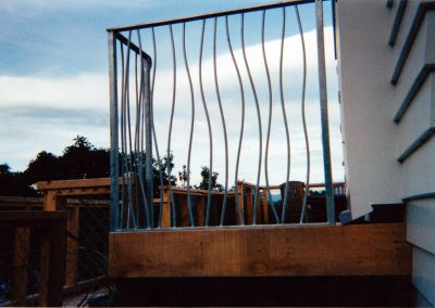 Fencing Wave Baluster - F9