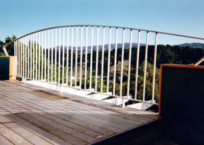 Fencing Curved Top Balustrade - F10