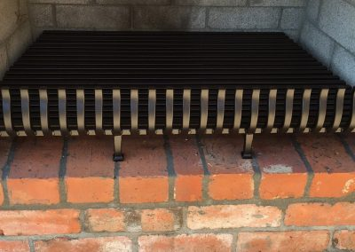 Square Bar Fire Grate - FP9
